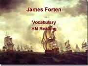 james forten vocabulary
