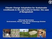 adaptation and climate