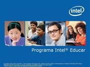 Programa Intel Educar - ProInfo Integrado - 2010