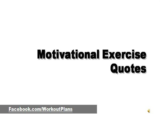 Motivational Exercise Quotes AuthorSTREAM Awesome Motivational Exercise Quotes