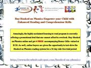 Hooked on Phonics Ushering in Dramatic Reading Improvement in 30 Days