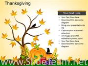 Thanksgiving PowerPoint Layout
