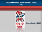 surviving holiday travel: winter driving tips