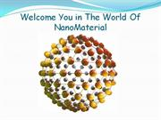 Welcomes You in NanoMaterial