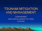TSUNAMI MITIGATION AND MANAGEMENT