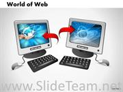 interconnected computers world of web