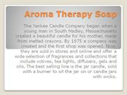 Aroma Therapy Soap