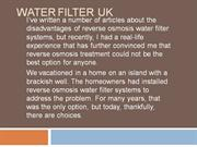 Water Filter Uk