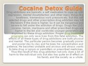 Cocaine Detox Guide