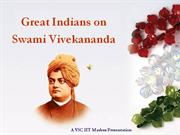 Quotes of Great Indians on 'Swami Vivekanand'