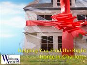 Finding The Right Home In Charlotte