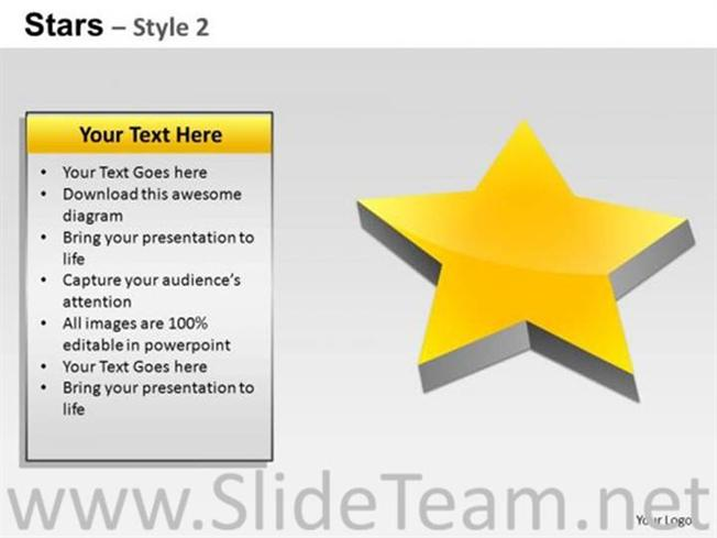 Sales Process Star Ppt Layout Powerpoint Diagram