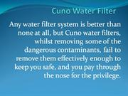 Cuno Water Filter