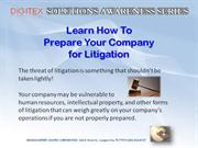 Prepare for Litigation.pptx