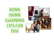 some home cleaning tips for you