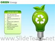 Recycling Generates Green Energy