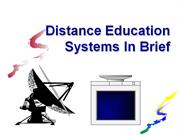 Distance Ed - History & Info