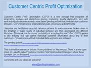Landing page for the Customer Centric Channel on Authorstream