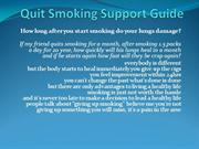 Quit Smoking Support Guide