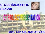 ICT Project Radon-1