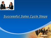 successful sales cycle steps