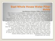 Best Whole House Water Filter Guide
