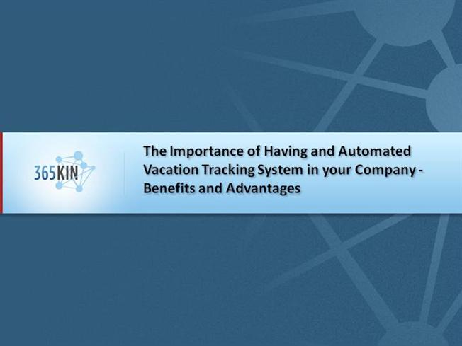 importance of vacation