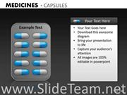 Strip Of Capsules PPT Template