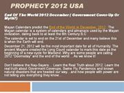 Prophecy 2012 USA