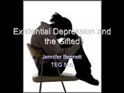 existential depression and the gifted