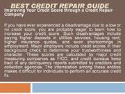 Best Credit Repair Guide