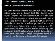 Free Tattoo Removal Guide