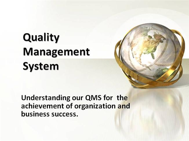 Typical Quality Management System Based on ISO 9001-2008 |authorSTREAM