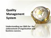 Typical Quality Management system Based on ISO 9001-2008