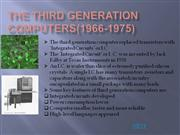 THE third Generation computers(1966-1975)