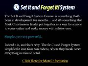 the set it and forget it system - shocking review