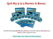 quit my 9 to 5 - personal review & $997 bonus