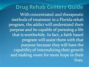 Drug Rehab Centers Guide