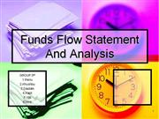 fund flow statement analysis