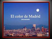 EL COLOR DE MADRID