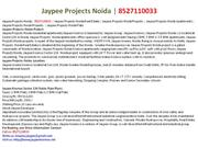 jaypee projects noida, book 8527110033, jaypee projects noida