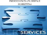 PRESENTATION ON SERVICE MARKETING
