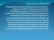 Exercise Pilates
