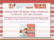 Stem Cell Therapy Cream by Biologic Solutions