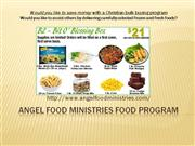 january 2011 advertising for angel food ministries