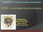 M1 projecct of CBA