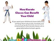 how karate classes can benefit your child