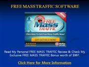 free mass traffic software - $997 bonus