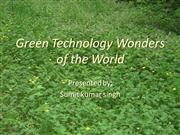green technology by sumit kr singh