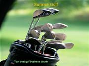 Sunrise Golf-your best golf business partner